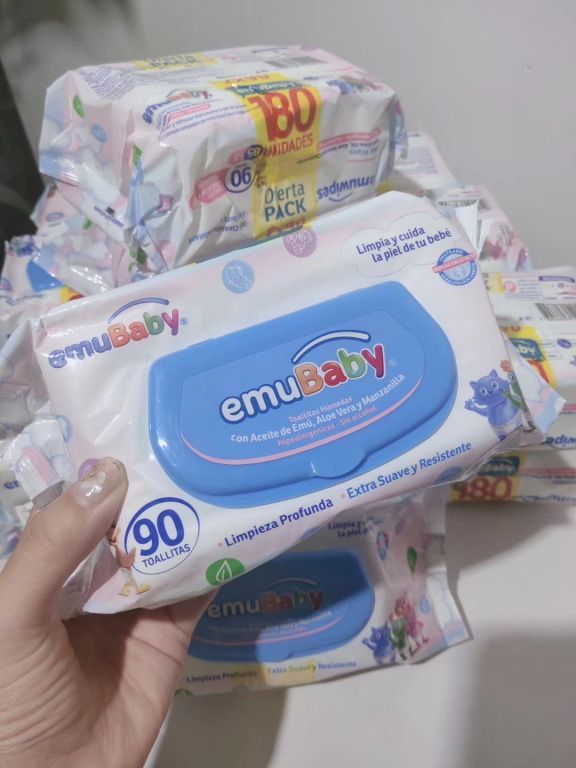 33340 - 60K pcs of baby wipes China