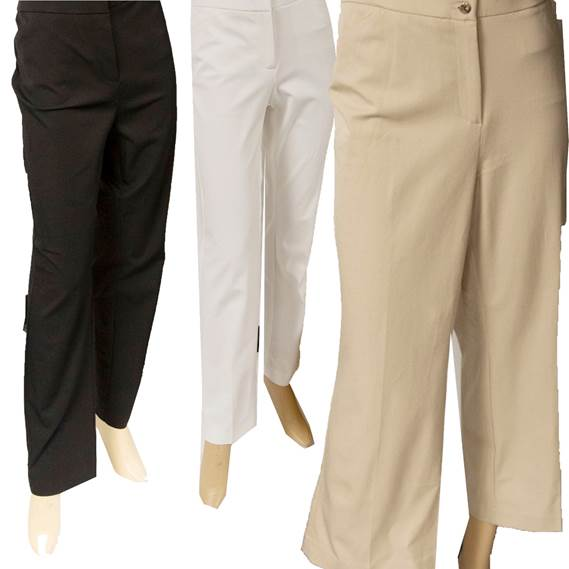 33996 - CHICOS Pants Crop stretch Cargo USA