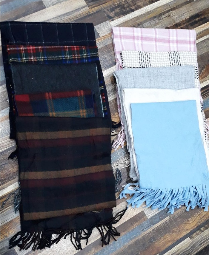 34066 - New Stock offer of Men's & Ladies Scarf Pakistan