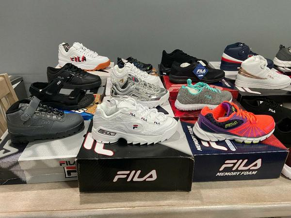 36424 - Fila Athletic Shoes--Men's , Women's, & Children's-Brand New in Boxes USA