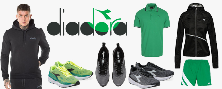 39966 - Diadora sportswear stock apparel, shoes Europe