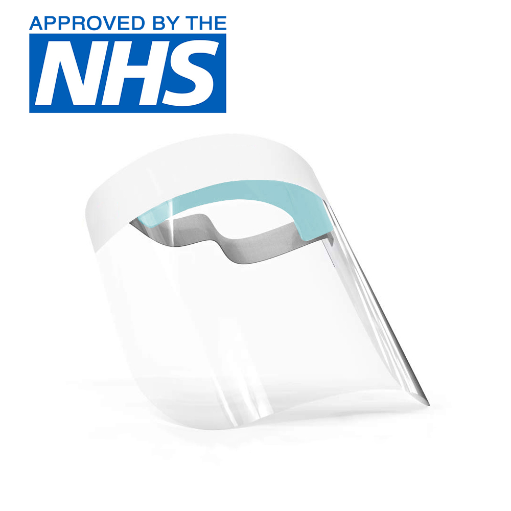 40586 - UK Made Professional Medical Anti-Fog NHS Approved Face Shields Europe