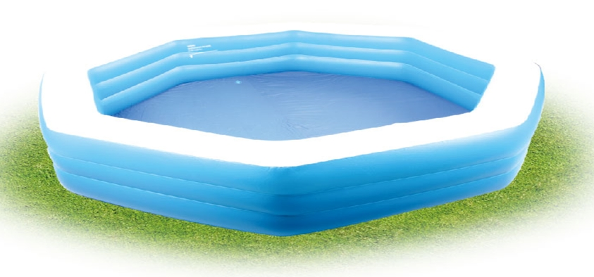 40757 - Octagonal family pool China