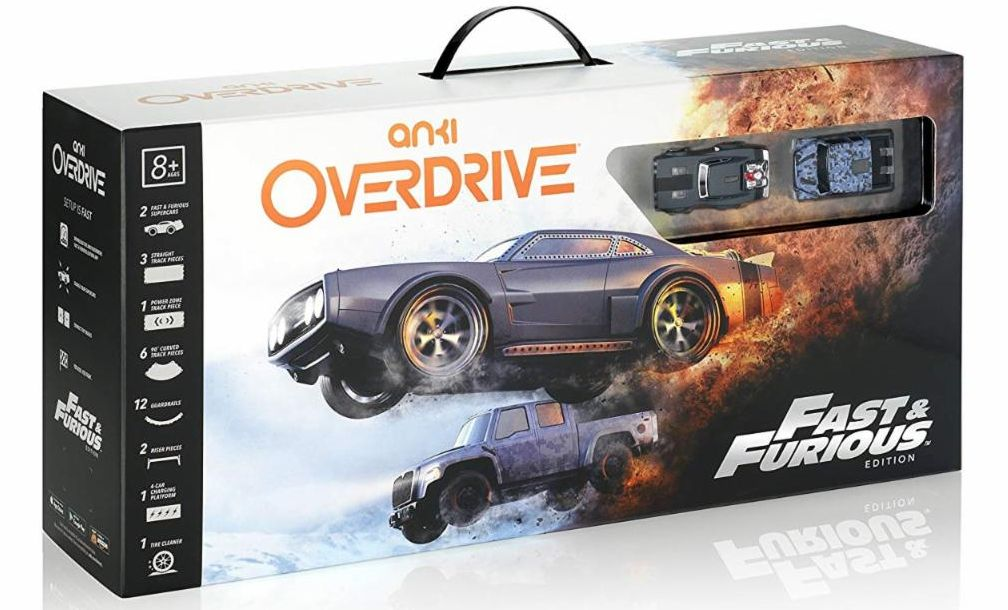 40841 - ANKI OVERDRIVE:THE FAST & THE FURIOUS EDITION: SUPER CHARGED ROBOTIC RACE CAR & TRACK SET USA