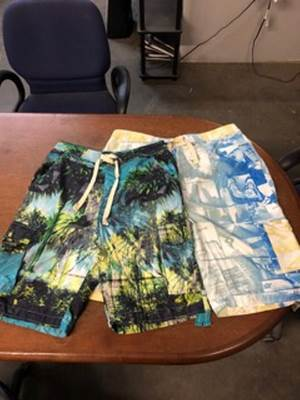 40933 - Assorted Assorted Mens Lined Pocket Swim Trunks / Men's Cargo Board Shorts USA